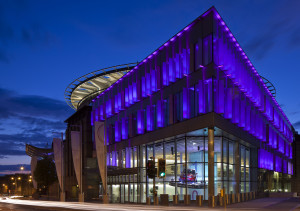 EICC Exterior Night hi res